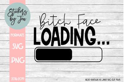 B* Face Loading SVG