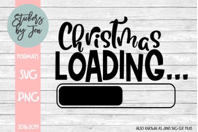 Christmas Loading SVG