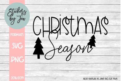 Christmas Season SVG