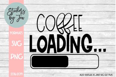 Coffee Loading SVG