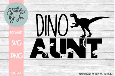 Dino Aunt SVG