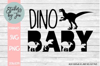 Dino Baby SVG
