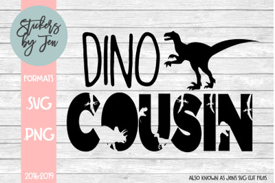 Dino Cousin SVG