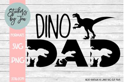 Dino Dad SVG