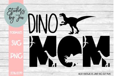 Dino Mom SVG