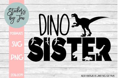Dino Sister SVG