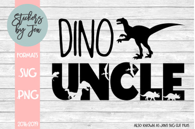 Dino Uncle SVG