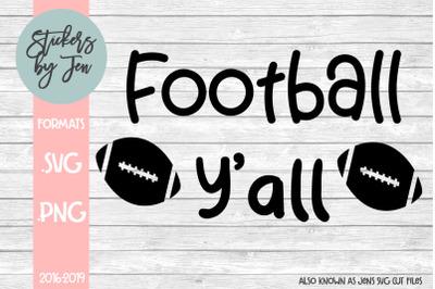 Football Y'all SVG