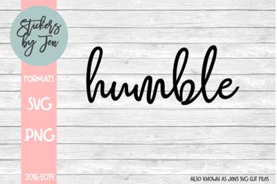 Humble SVG