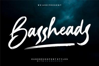 Bassheads - Brush Font