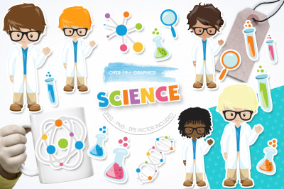 Science graphic and illustration