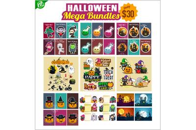 Halloween mega bundles