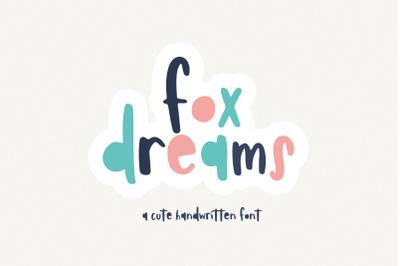 Fox Dreams - A Fun Handwritten Font