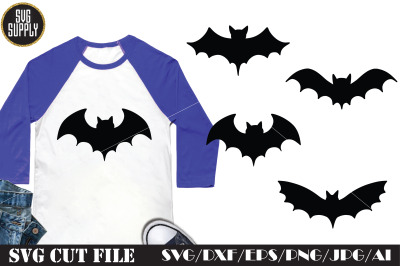 Halloween Bats SVG Cut File