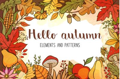 Doodle Autumn Design Kit