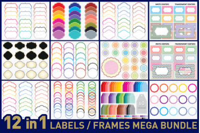 Labels / Frames and Tags Bundle