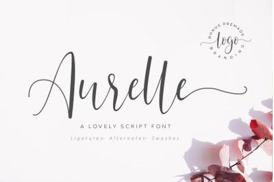 Aurelle Script Font