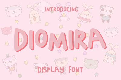 Diomira Display Font
