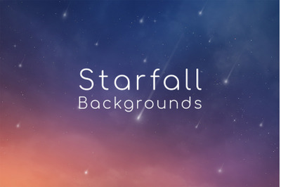 Starfall Backgrounds
