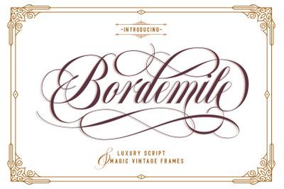 Bordemile - Luxury Script