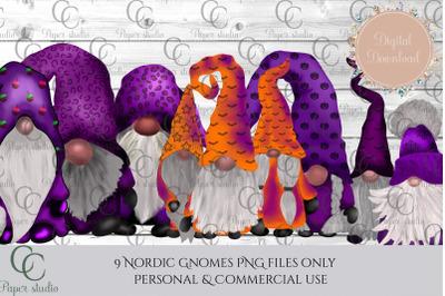 scandinavian tomte gnomes - halloween special
