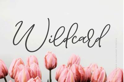Wildcard | A Modern Calligraphy Script