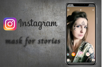 Mask for Instagram stories