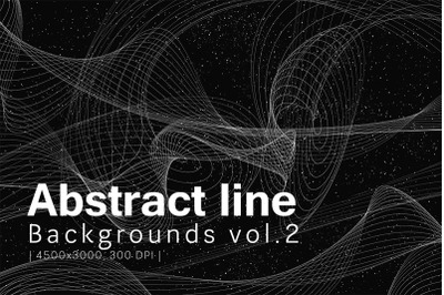 Abstract Line Backgrounds Vol.2