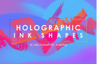 Holographic Ink Shapes