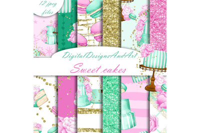 Sweet cakes patterns