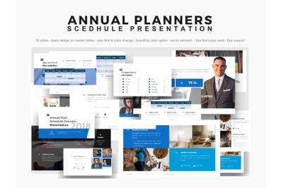 Company annual planner presentation