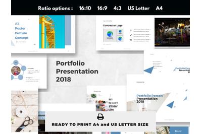 Personal Portfolio Showcase PowerPoint Presentation