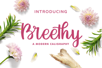 Breethy Font