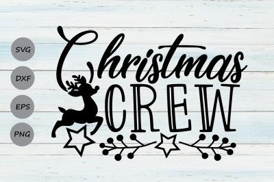 Christmas Crew Svg, Christmas Svg, Holidays Svg, Merry Christmas Svg.