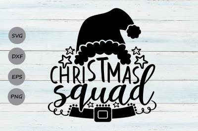 Christmas Squad Svg, Christmas Svg, Holiday svg, Christmas Family Svg.