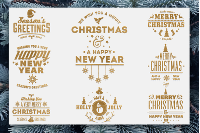 Christmas Quotes SVG Pack 2