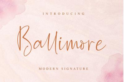 Ballimore - Modern Signature