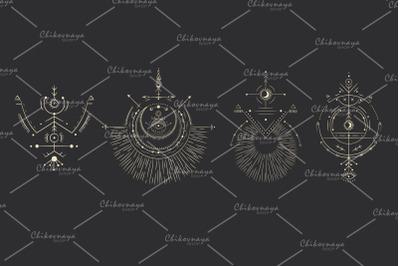 Space Symbols Set