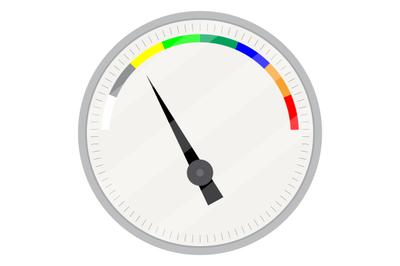 Spectrum indicator device vector