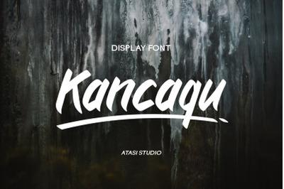 Kancaqu - Display Font
