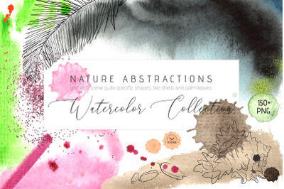 Nature Abstractions - Watercolor Set