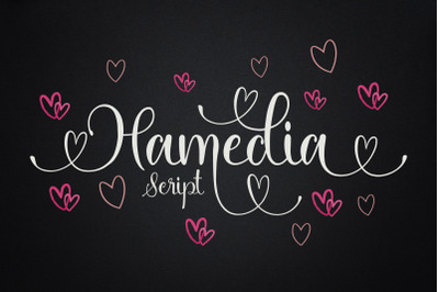 Hamedia Script font