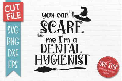 Dental Hygienist - Halloween SVG Cut File