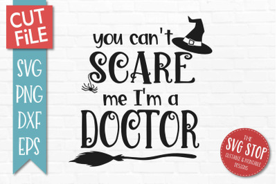 Doctor - Halloween SVG Cut file