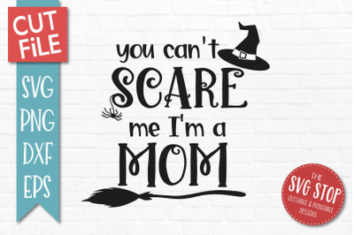 Mom - Halloween SVG Cut File