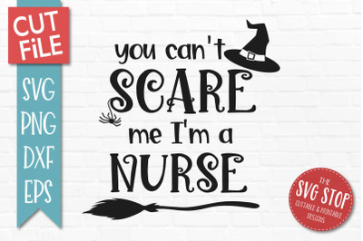 Nurse-Halloween SVG Cut File