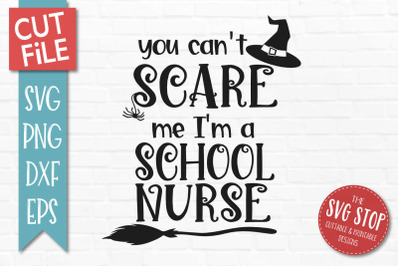 School Nurse-Halloween SVG Cut File