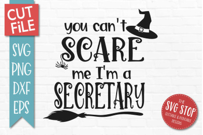 Secretary-Halloween SVG Cut File
