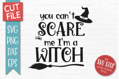 Witch-Halloween SVG Cut File