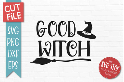 Good Witch-Halloween SVG Cut File